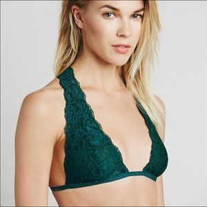 """Free People Intimately """"Truly Madly"""" Halter Bra"""